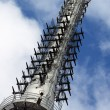 Liberec - transmitter Jested - Stock Photo