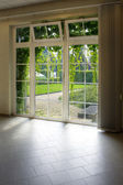 Modern residential window — Stock Photo