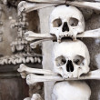 Church Sedlec - charnel-house - Stock Photo