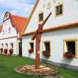 Village Holesovice in South Bohemia — Stock Photo #20504683