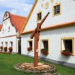 Village Holesovice in South Bohemia — Stock Photo