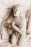 Stone statue Christ — Stock Photo