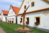 Village Holesovice in South Bohemia — Stock Photo