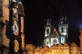 Prague, square Staromestske — Stock Photo