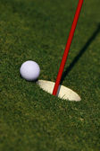 Grass on a golf course — Stock Photo