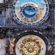 Astronomical horoscope clock — Stockfoto