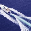 Fast motor boat — Stock Photo #20588945
