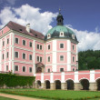 Castle Becov nad Teplou — Stock Photo