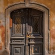 Pardubice - old door - Stock Photo