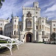 Castle Hluboka nad Vltavou — Stock Photo #23065330