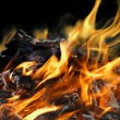 Stock Photo: Abstract fire