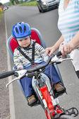 Sport op fietsen — Stockfoto