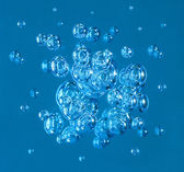 Bubbles in water — Stock Photo