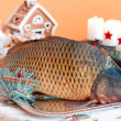 Carp and Christmas — Stock Photo #30666273