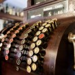 Old-Time Cash Register in a Pub. — Stock Photo #42600927