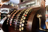 Old-Time Cash Register in a Pub. — Stock Photo
