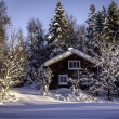 Winterhome — Stockfoto