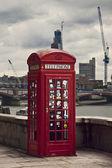 Telephone of London — Stock Photo