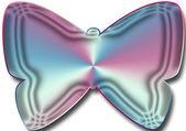 Matallic motyl — Zdjęcie stockowe