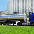 Stock Photo: Fuel truck on city street