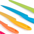 A set of color knives — Stock Photo