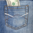 Stock Photo: Money in your pocket