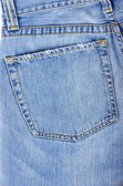 One jeans pocket — Stockfoto