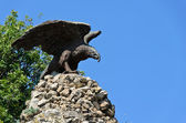 Stone eagle — Stock Photo