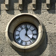 Stock Photo: Clock on wall