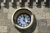 Clock on the wall — Stock Photo