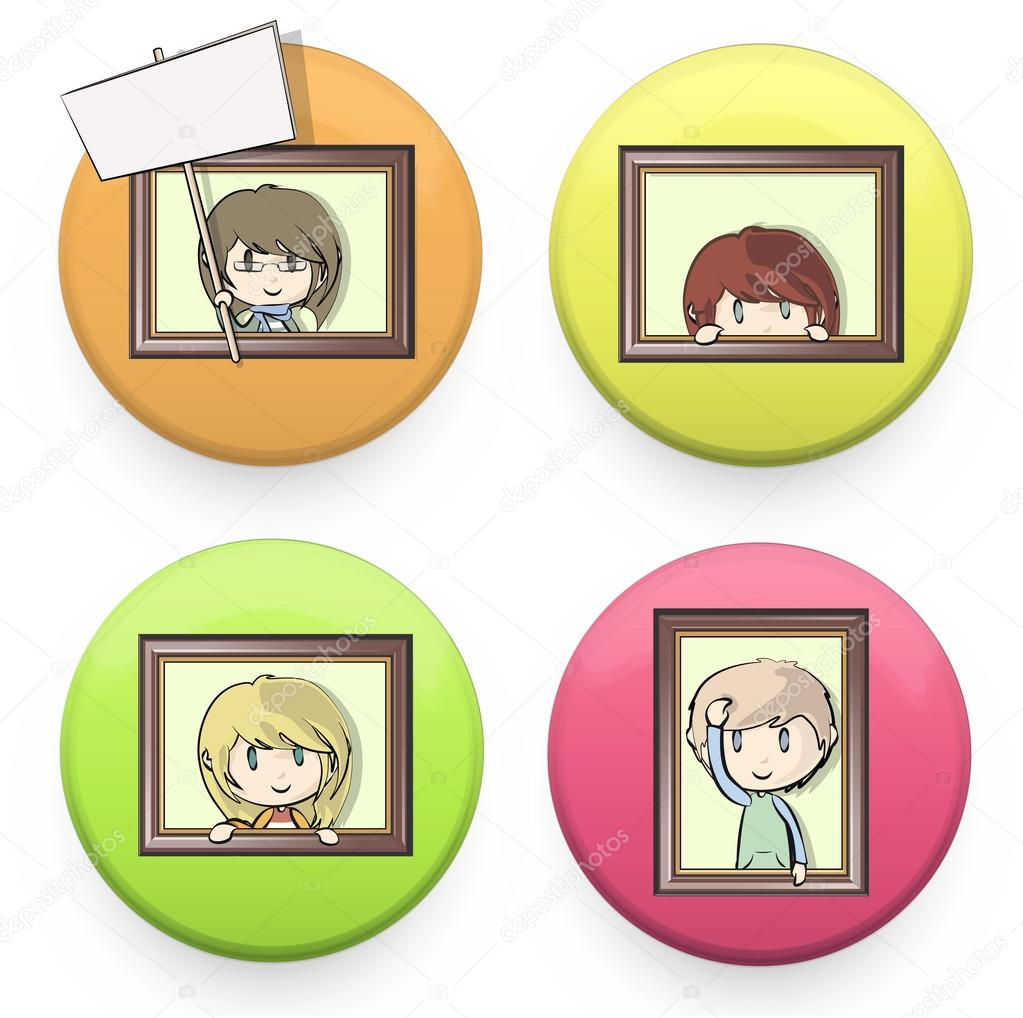 Photo Frames Design For Kids Vector design Photo Frame Design For Kids