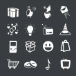 Set of icons. Vector design. - Stock Vector