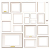 Full background of frameworks. Vector Design. — Stock Vector