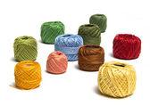Färgglad tråd — Stockfoto