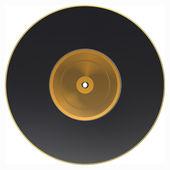 Vinyl isolated on white. Vector design — Stock Vector
