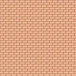 Brick wall. Vector illustration.  — Stock Vector #27580005