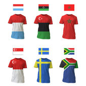 National shirt design. Vector design. — Stock Vector