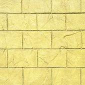 Yellow abstract brick texture. — Stock Photo