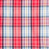 Red and white checkered pattern texture. Abstract background — Stockfoto