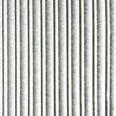 Closed security shutters. Background texture. — Stock Photo