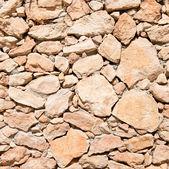 空棕色的石头。背景纹理 — 图库照片
