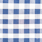 Blue checkered pattern texture. Abstract background — Stock Photo