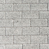 Grey rectangle pavement tiles. Texture background. — Stock Photo