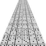 Domino effect — Stock Photo