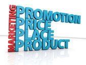 Marketing concepts — Stock Photo