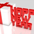 New Year 2013 concept — Stockfoto