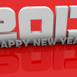 New Year 2013 concept — Stock fotografie