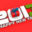 Stock Photo: New Year 2013 concept