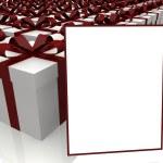 Illustration of colorful gift box — Stock Photo
