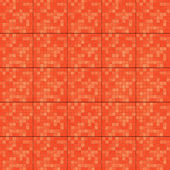 Telhas textura vermelho — Foto Stock